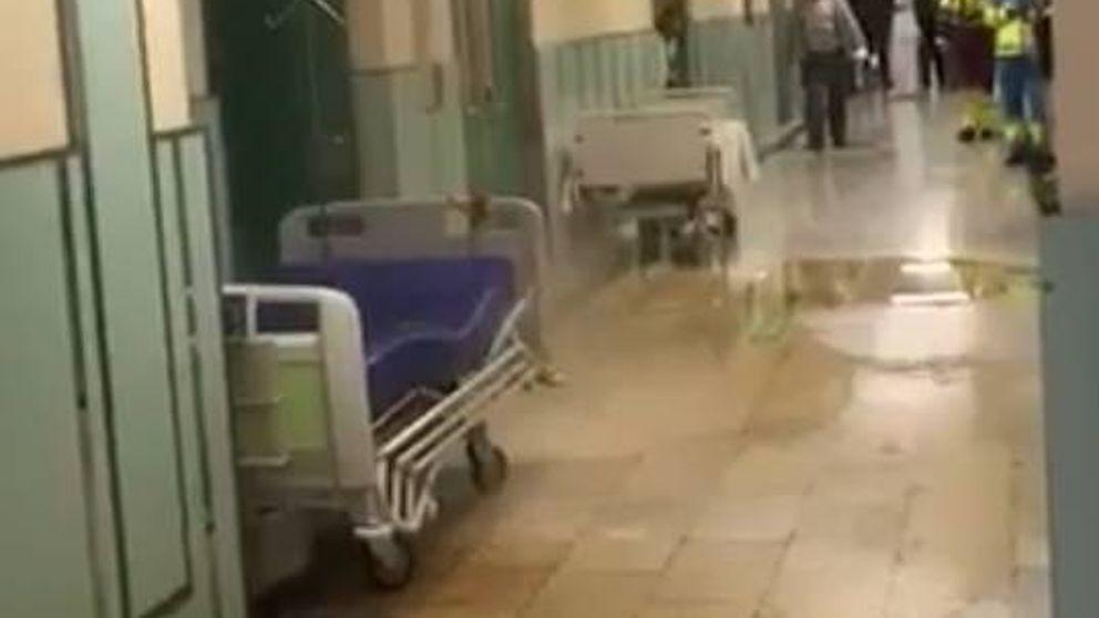 Inundaciones en Urgencias del Hospital 12 de Octubre por el estallido de una tubería
