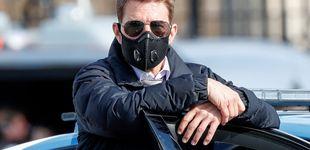 Post de Roban el coche a Tom Cruise durante el rodaje de 'Misión Imposible 7'