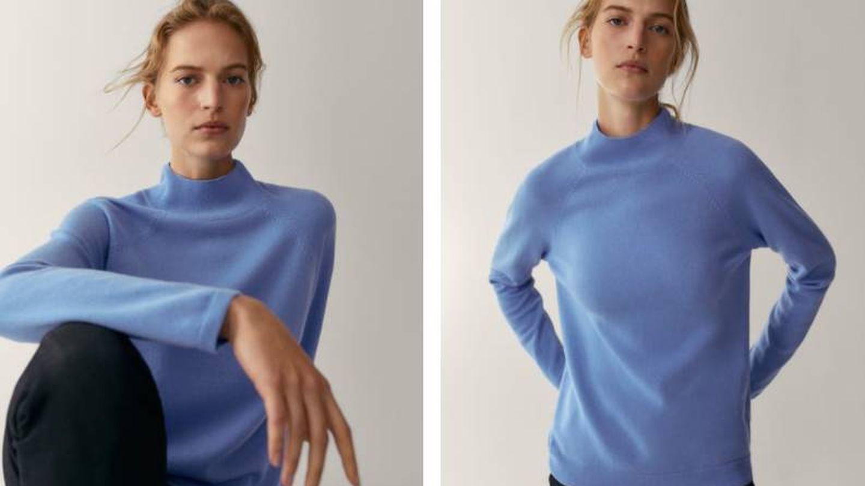 Massimo Dutti tiene unos jerséis de colores ideales. (Cortesía)