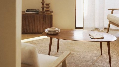 Optimiza tu espacio gracias a las mesitas redondas de las rebajas de Zara Home