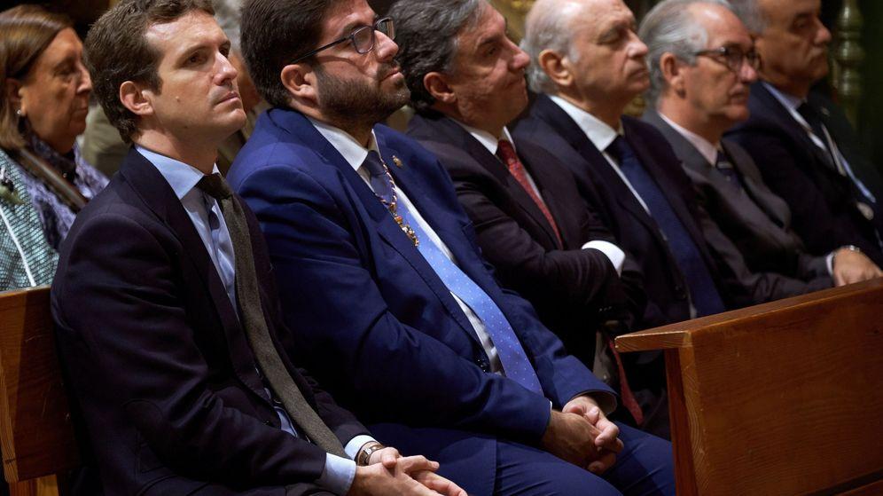 Foto: Casado (i) y Sánchez Cabrera (2i). (EFE)