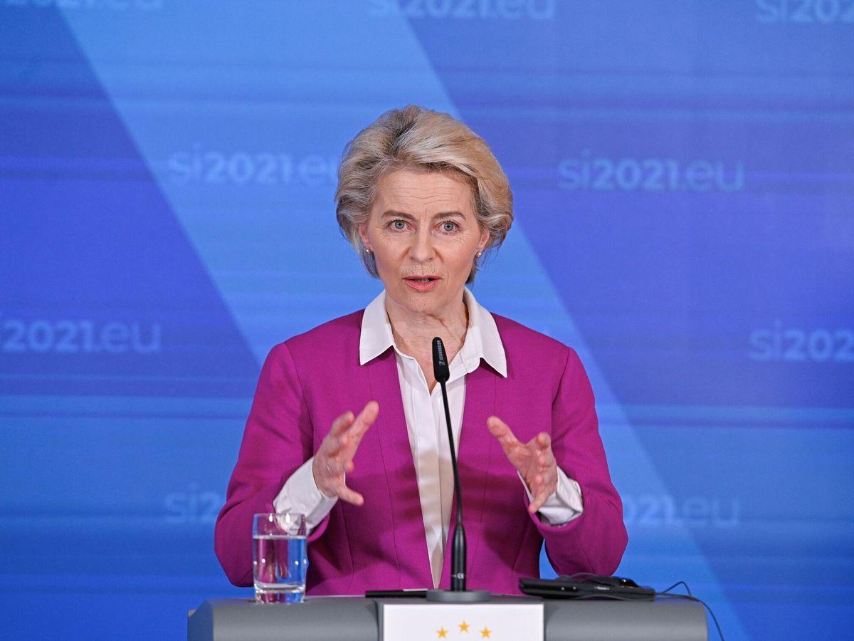 Foto: La presidenta de la Comisión Europea, Úrsula Von der Leyen. (Reuters)