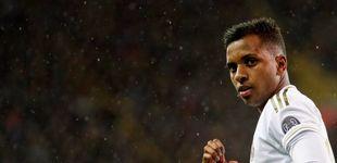 Post de La amenaza de Rodrygo en el Real Madrid: adelanta a Bale y Vinicius en el once