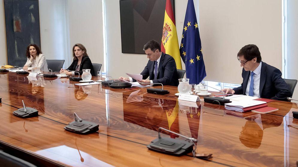 Foto: Sánchez en la conferencia de presidentes (EFE)