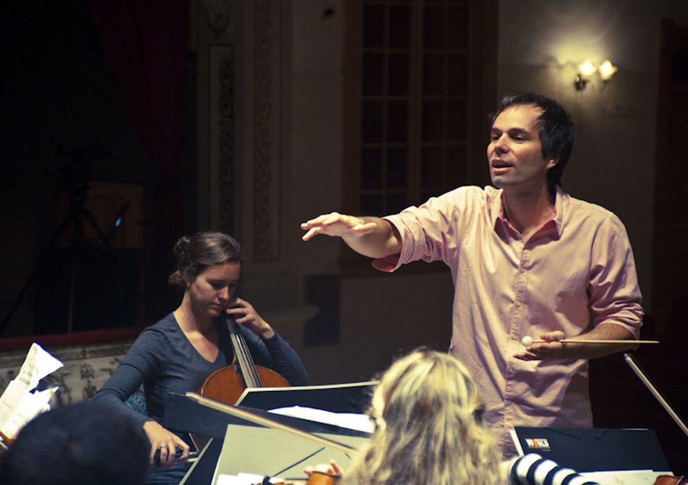 Foto: Josep Vicent, director de orquesta