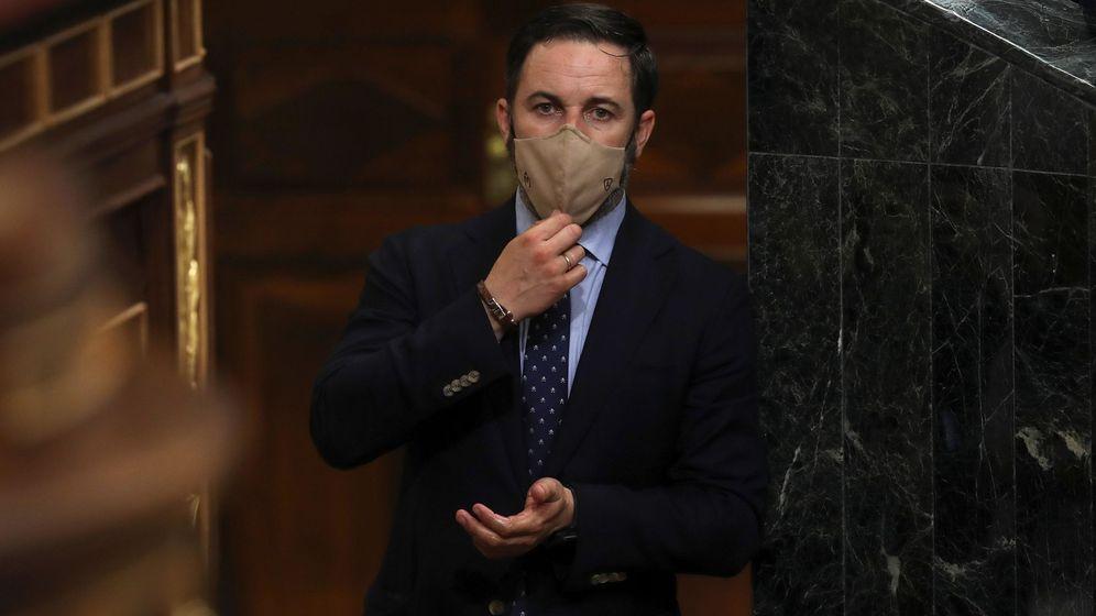 Foto: El presidente de Vox, Santiago Abascal. (EFE)
