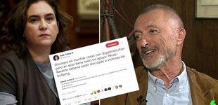Post de Pérez-Reverte y Colau se enzarzan en Twitter: