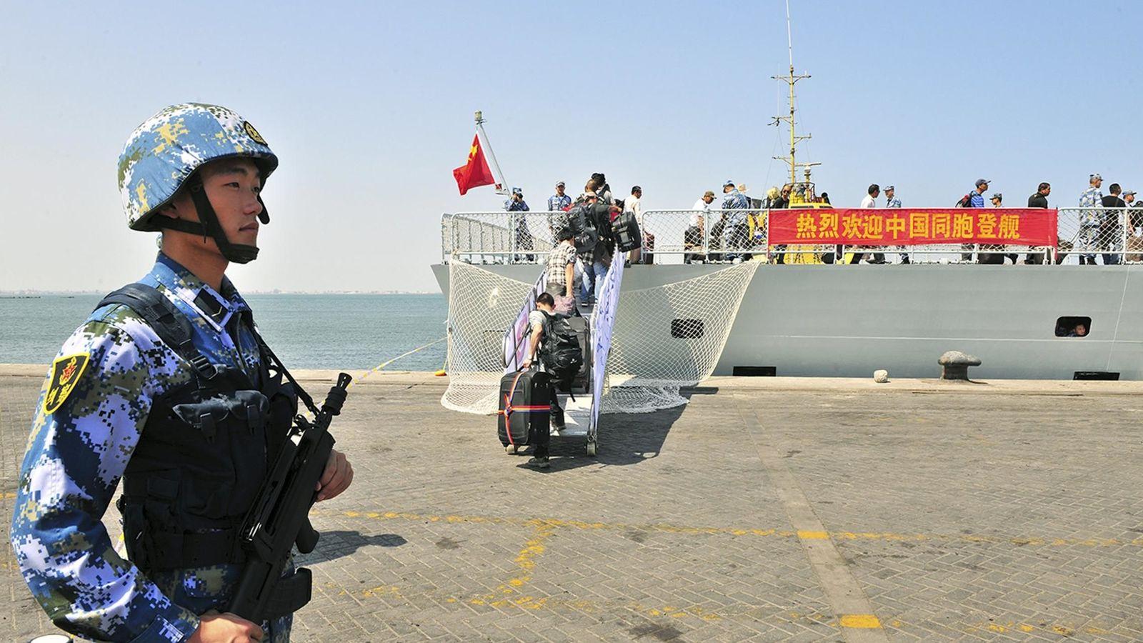 Resultado de imagen de china base militar