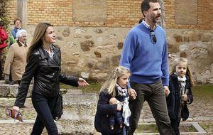 Los príncipes de Asturias visitan Almagro