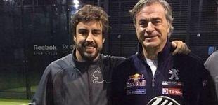 Post de Los platillos en movimiento de Fernando Alonso... ¿al Dakar con Carlos Sainz?