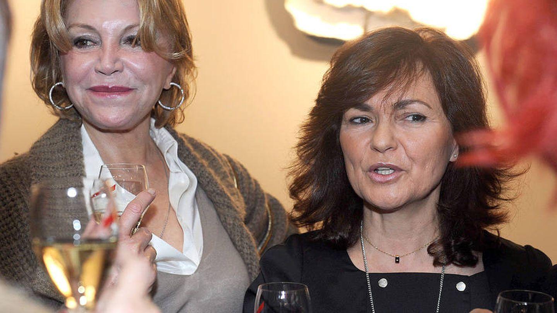Baronesa Thyssen y Carmen Calvo. (EFE)