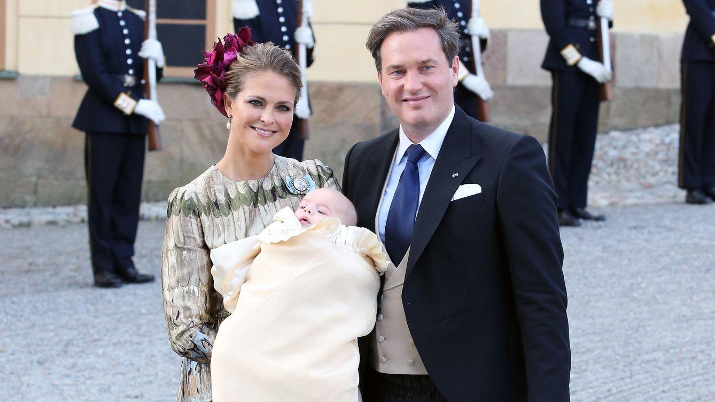 Foto: La princesa Magdalena en el bautizo de su hijo (Gtres)