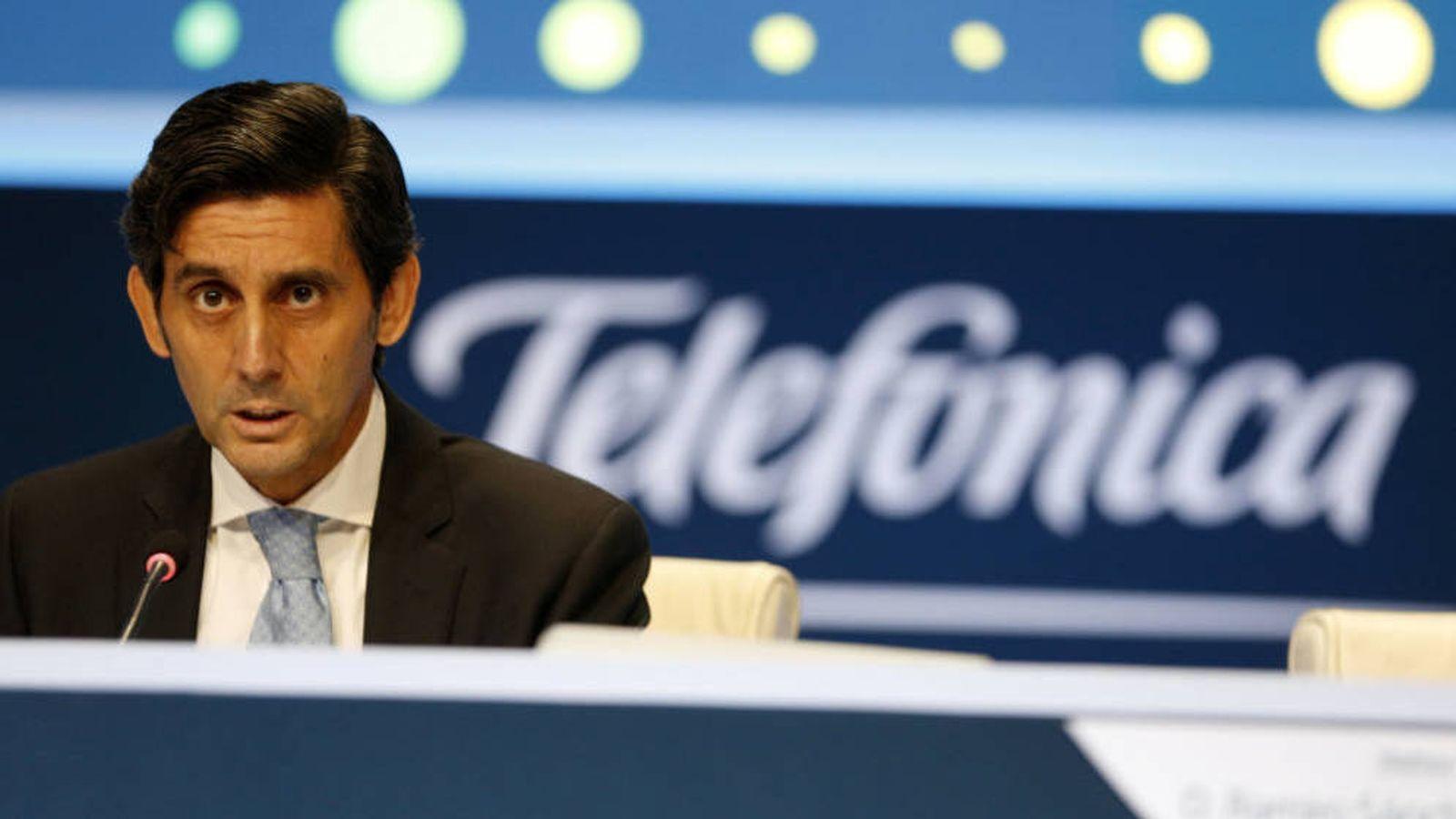 Foto: José María Álvarez-Pallete, presidente de Telefónica, ha reactivado las ventas de Telxius y O2. (Reuters)