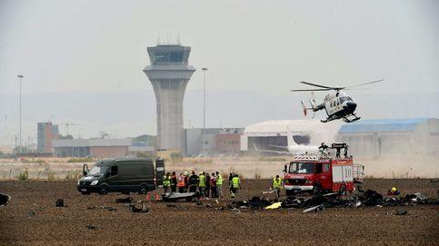 Se estrella un F18 en Torrejón