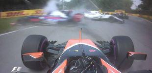 Post de Hamilton se pasea y Vettel salva a Ferrari; Alonso abandona a falta de dos vueltas