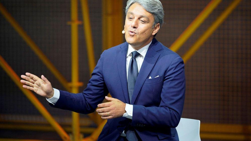 Foto: Luca de Meo en una presentación de Cupra. (EFE)
