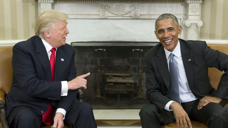 Foto: Obama recibe en la Casa Blanca a Trump para iniciar el proceso de transición. (EFE)