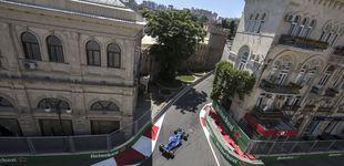 Post de Hamilton, pole y sartenazo a Vettel en Bakú: Alonso cae por primera vez en Q1
