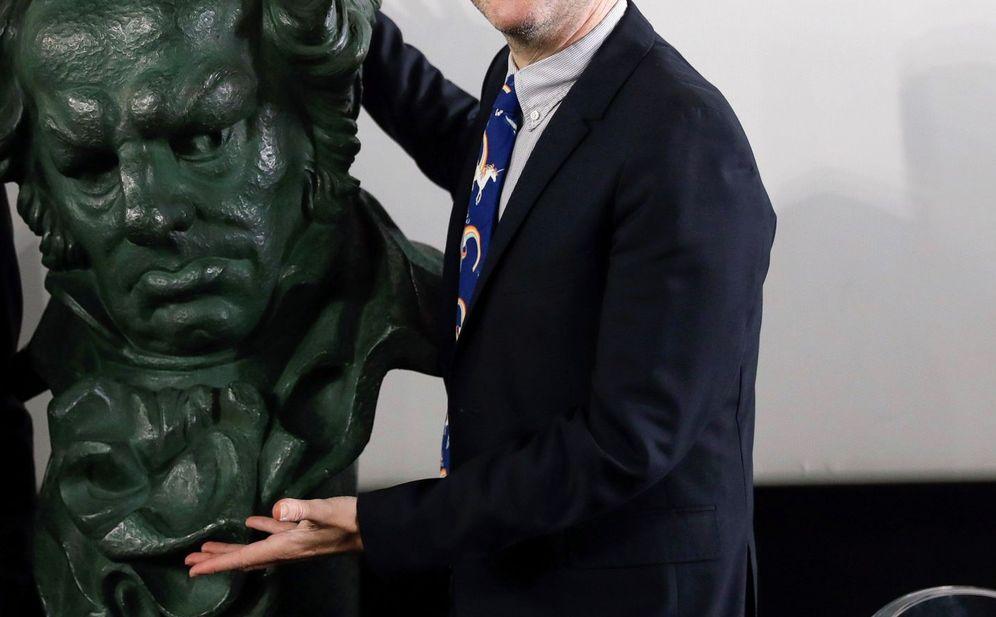Foto: Rueda de prensa de los presentadores de los premios Goya, Ernesto Sevilla y Joaquín Reyes. (EFE)