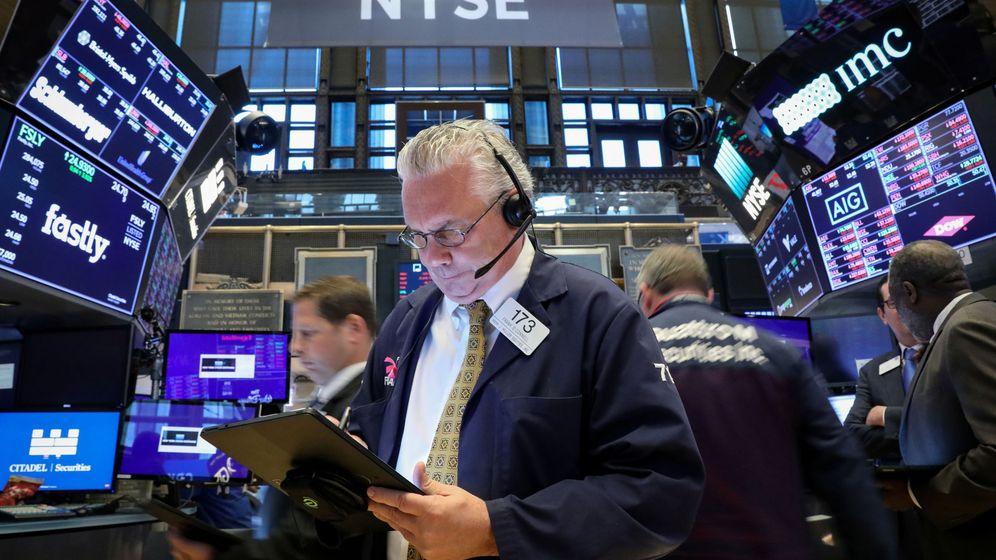 Foto: Bolsa de Nueva York. (Reuters)