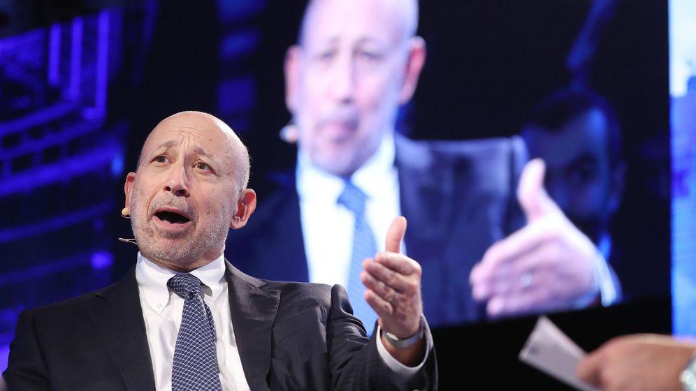 Foto:  El consejero delegado de Goldman Sachs, Lloyd Blankfein,