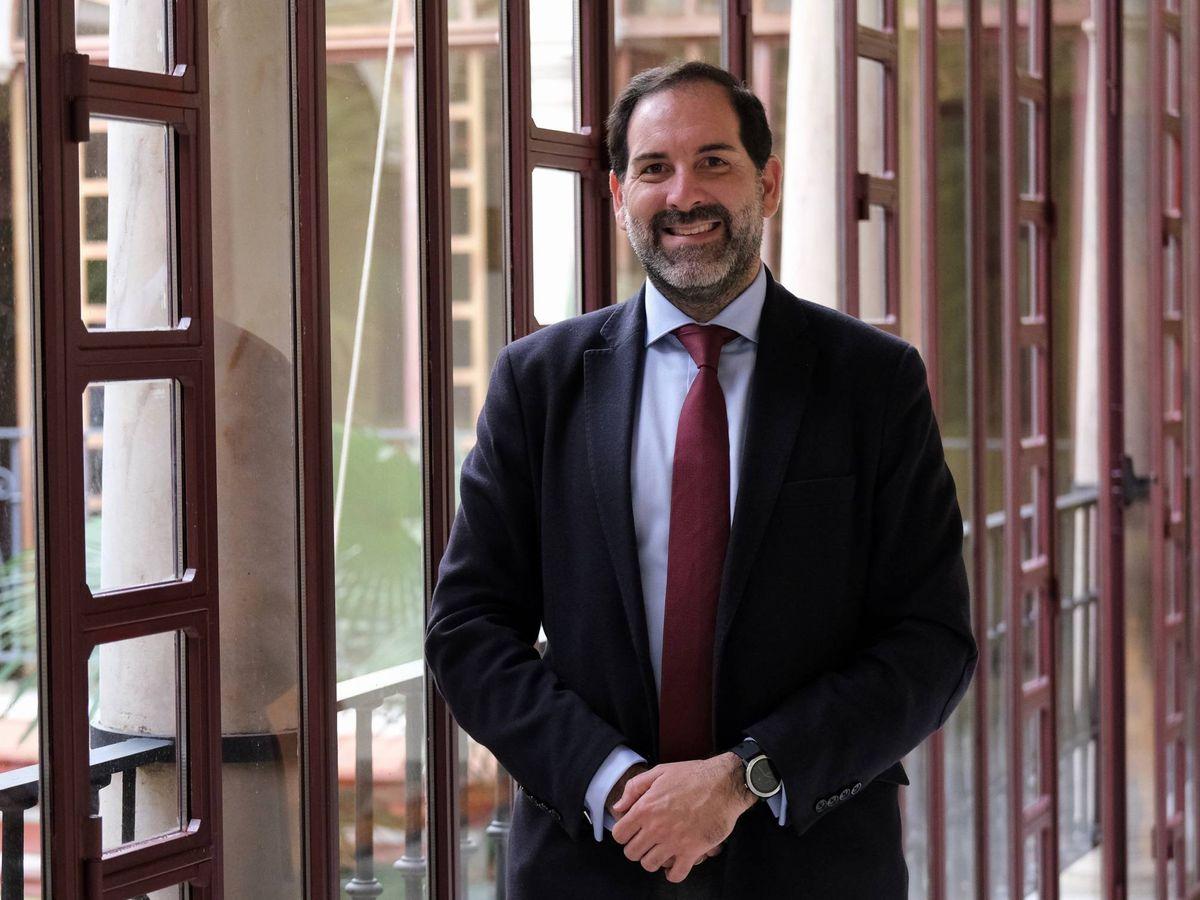 Foto: Francisco Ontiveros, director general de Justicia Juvenil de la Junta de Andalucía.