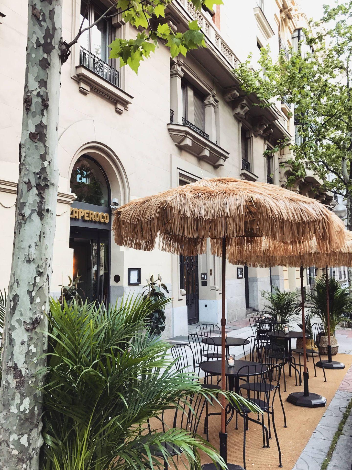 Un chiringuito muy cool en plena calle Velázquez.