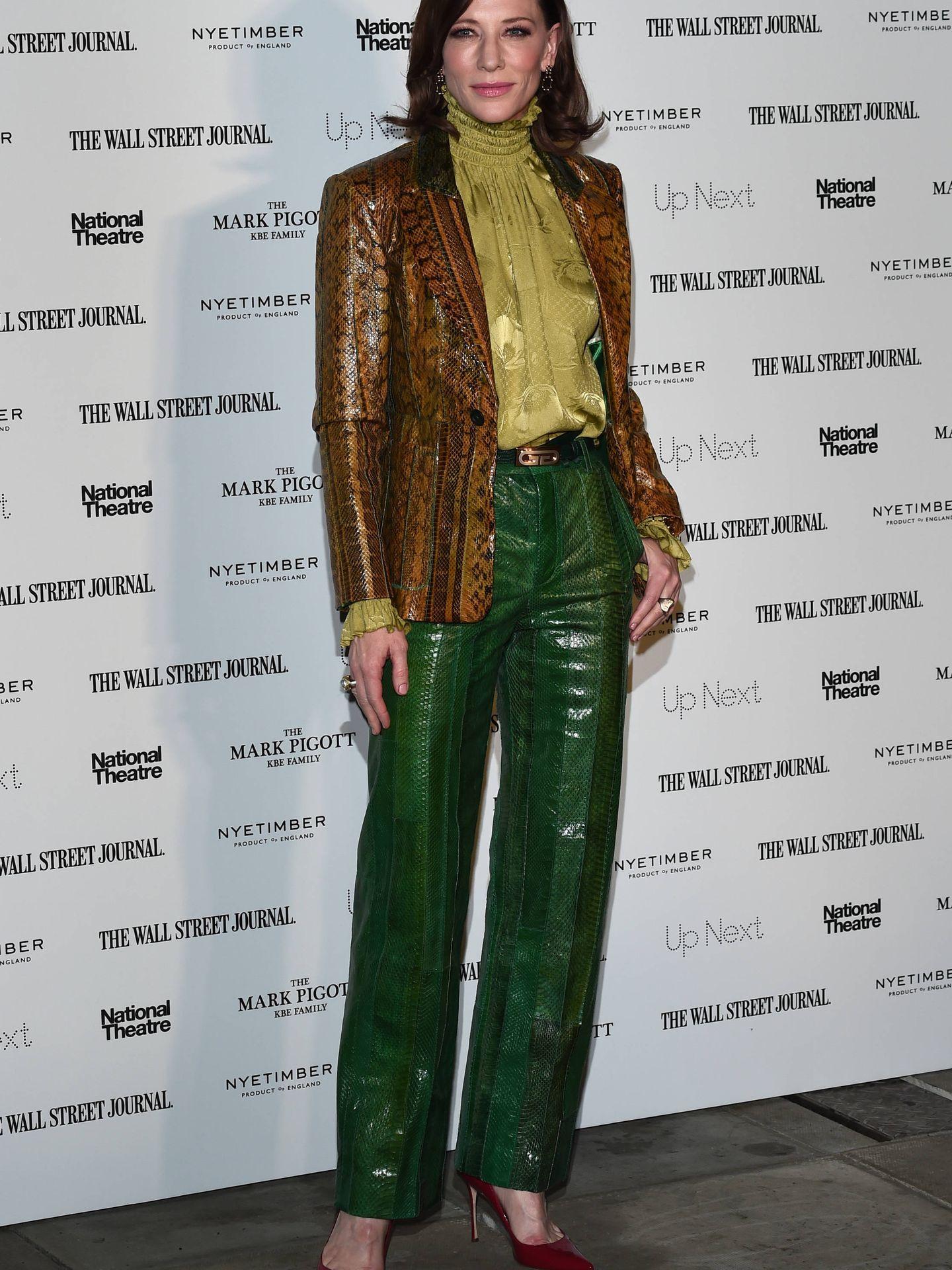 Cate Blanchett también se apunta. (Getty)