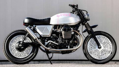 La moto customizada de Tom Dixon