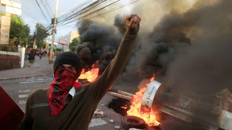 [Pinche aquí para ver las imágenes de la crisis en Honduras]