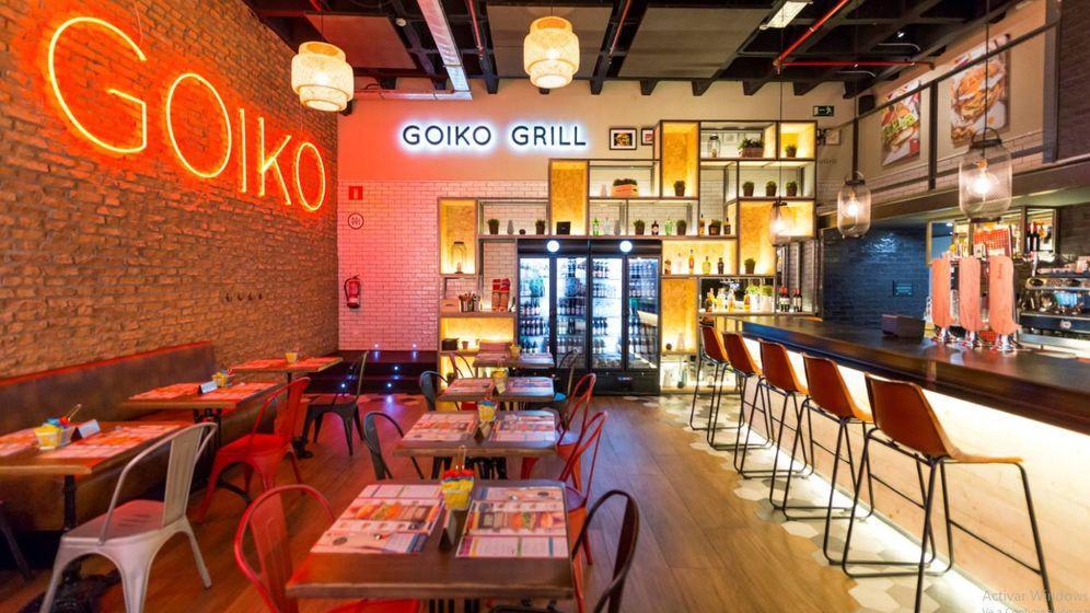 Foto: Un Goiko Grill en el centro comercial Arturo Soria Plaza, de Madrid. (EFE)