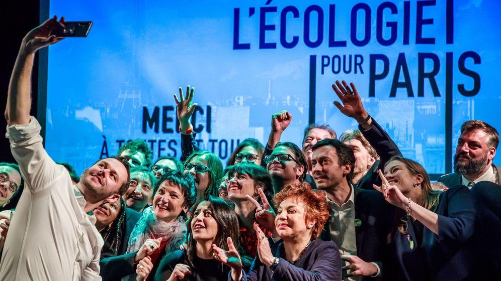 Foto: Campaña de Los Verdes en París, en una imagen de archivo. (Reuters)