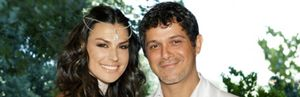 Foto: Alejandro Sanz y Raquel Perera 'regalan' su boda