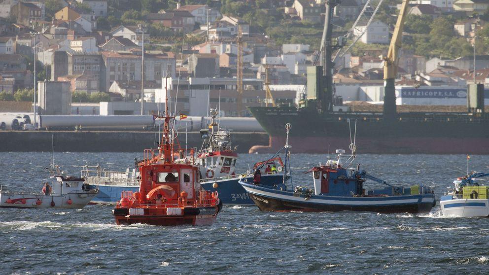 Tres muertos en el hundimiento de un pesquero de Portonovo en Fisterra (Galicia)