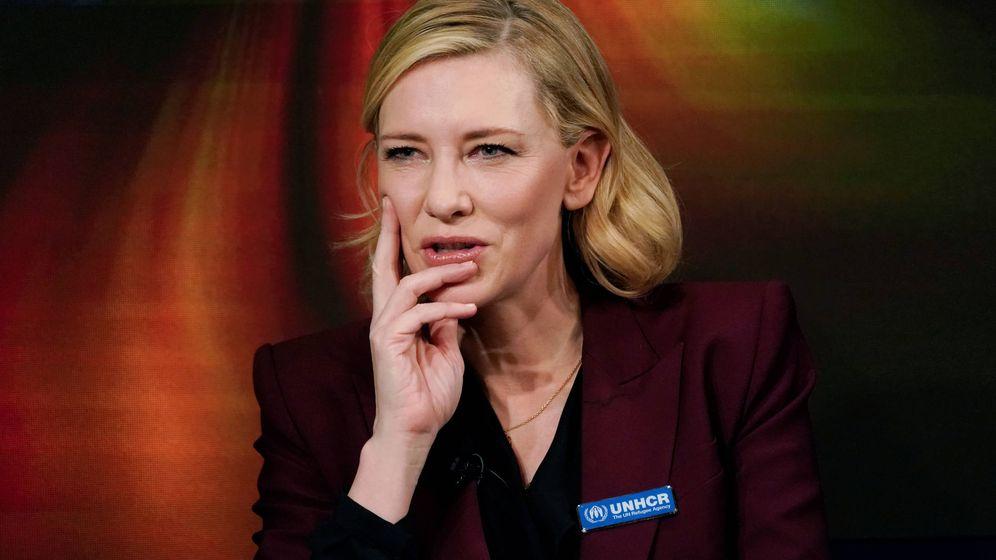 Foto: La actriz Cate Blanchett, en Davos 2018. (Reuters)