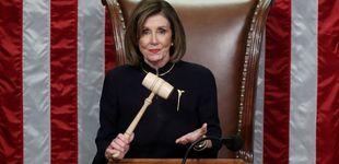 Post de Nancy Pelosi tiene un look para impeachments y no es supersticiosa
