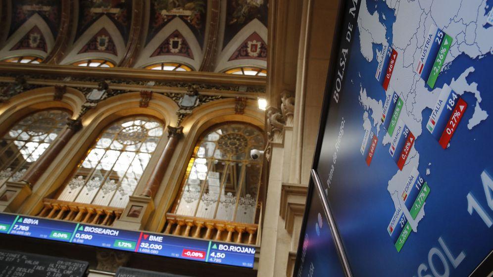 Foto: Vista de la Bolsa de Madrid. (EFE)