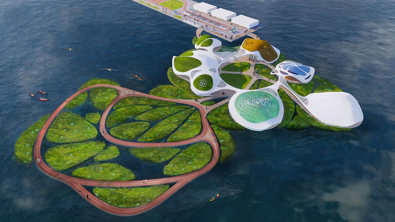 La isla es móvil y se puede escalar. (3deluxe)