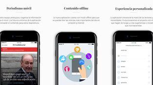 El Confidencial rediseña su aplicación de noticias: sencilla, intuitiva y personalizada