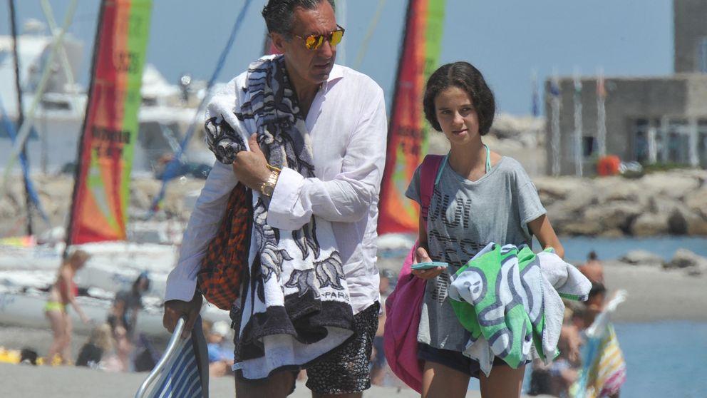 Jaime de Marichalar disfruta de las vacaciones junto a sus hijos en Sotogrande