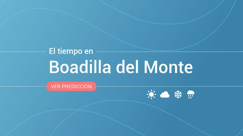 El tiempo en Boadilla del Monte: previsión meteorológica de hoy, jueves 19 de septiembre