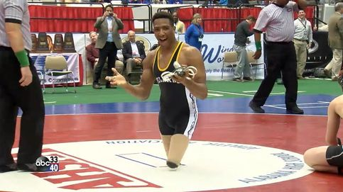 La increíble historia del luchador que se convirtió en campeón... ¡sin piernas!