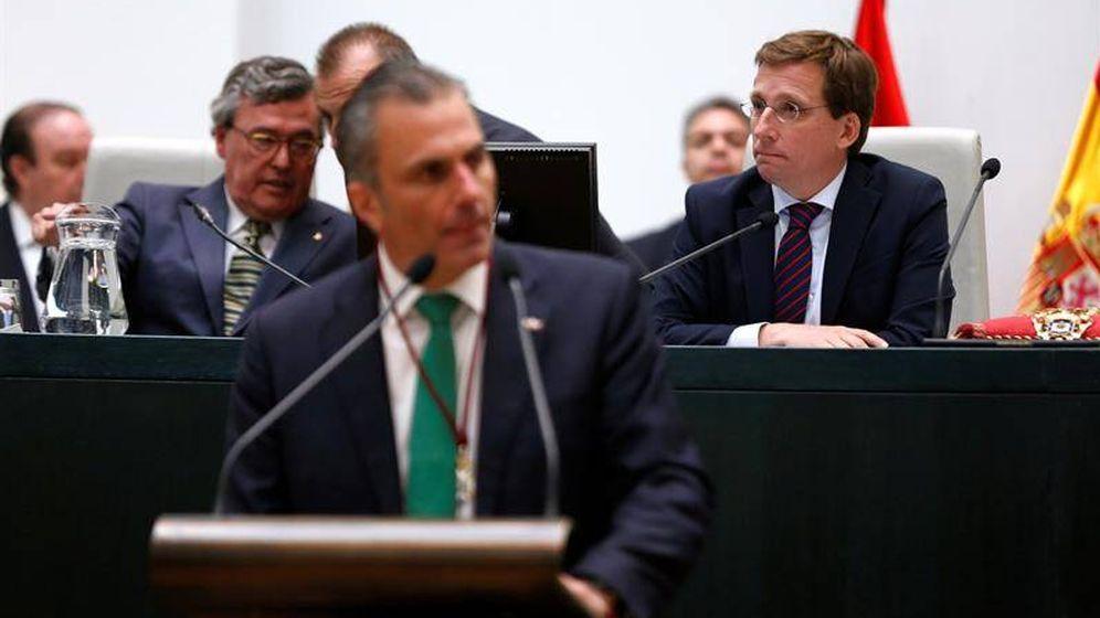 Foto: José Luis Martínez Almeida y Javier Ortega Smith. (EFE)