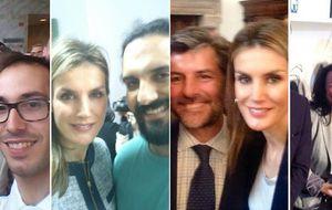 La realeza cae en las redes de los 'selfies'