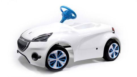 El nuevo cochecito a pedales de Peugeot