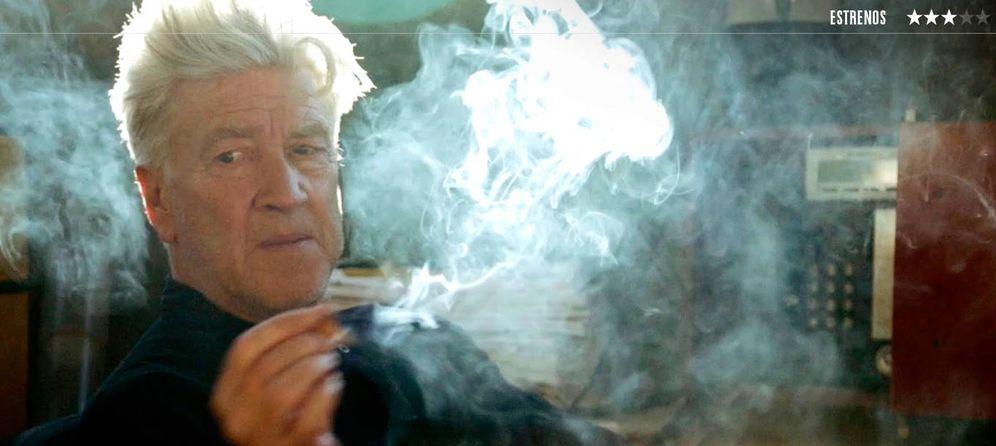 Foto: David Lynch, en un fotograma de 'David Lynch: The Art Life'.