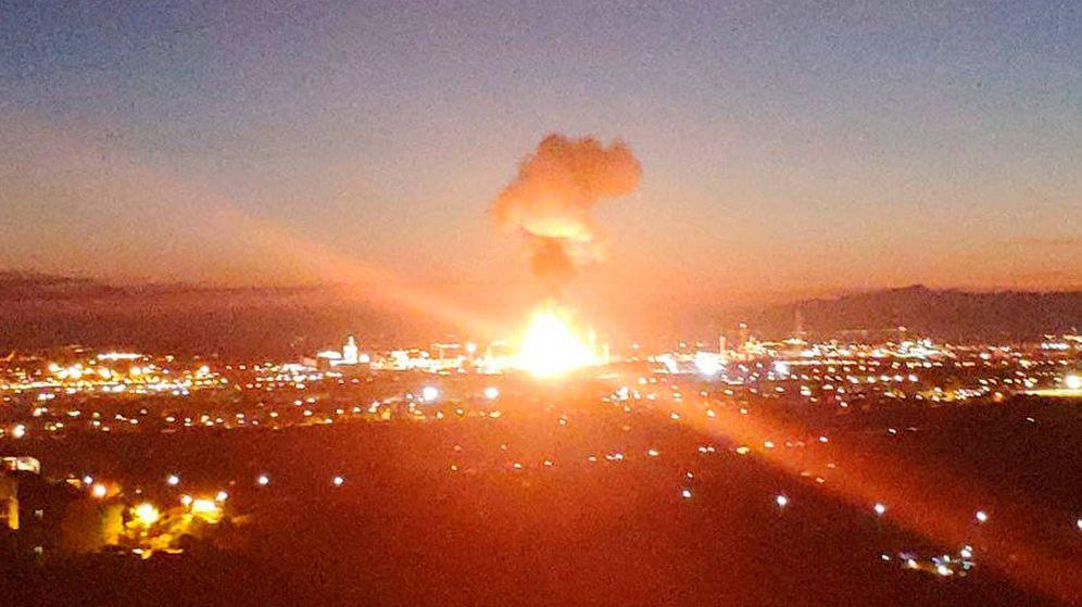 Foto: Explosión en Tarragona.