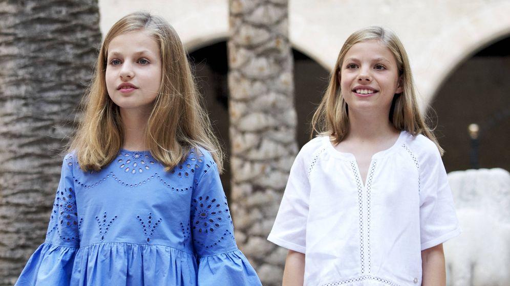 Foto: La princesa Leonor en Palma. (Getty)
