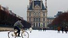 París, cubierta de nieve