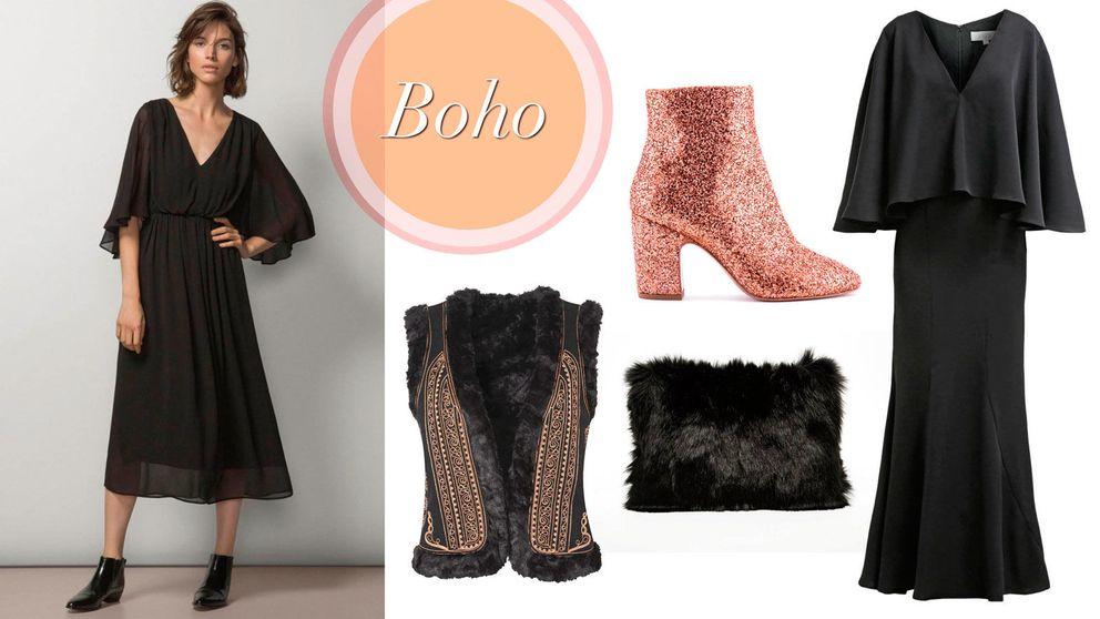 Vestido negro, cuatro formas nuevas de llevar un LBD
